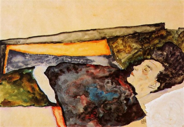 Egon Schiele, The Artist's Mother, Sleeping, 1911, Albertina, Vienna mother's day famous mothers art