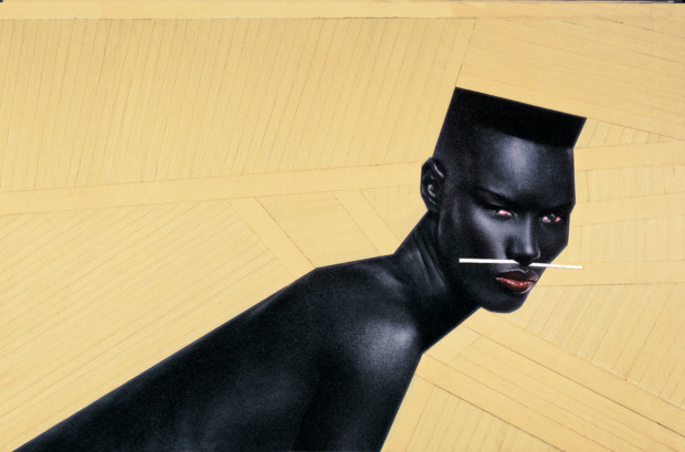Cry Now, Laugh Later by Jean-Paul Goude, 1982, grace jones art