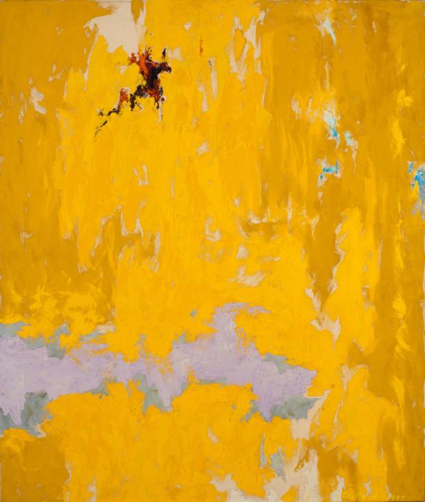 Clyfford Still, PH-129, 1949, Clyfford Still Museum, Denver, CO, USA. color field painting