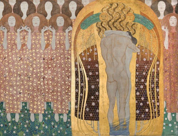 Klimt Beethoven Frieze