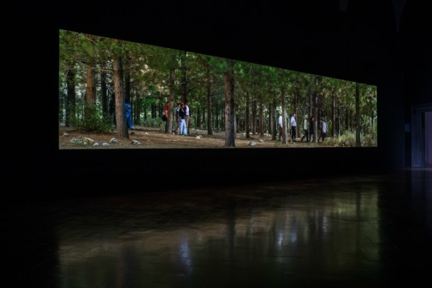 Bill Viola, The Path, copyrights: Bill Viola