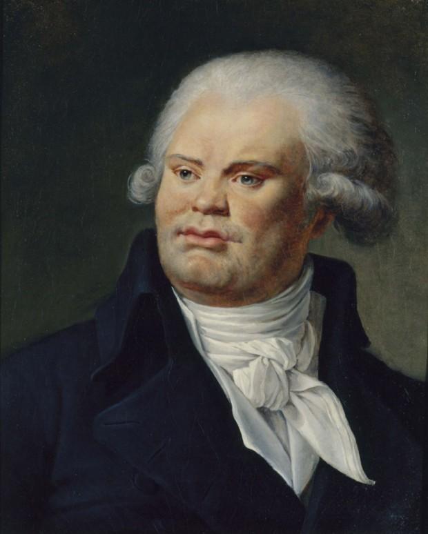 Constance-Marie Charpentier, Portrait of Georges Danton, Musée Carnavalet, 1792