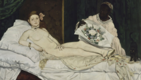 Edouard Manet, Olympia, 1856, Paris Salon