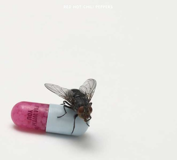 Damien Hirst, I'm with You, 2011, Source: NME.com, album covers art