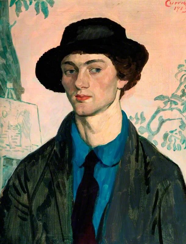 John Currie Artist Currie, John; Mark Gertler (1891-1939); The Potteries Museum & Art Gallery; https://www.artuk.org/artworks/mark-gertler-18911939-19815