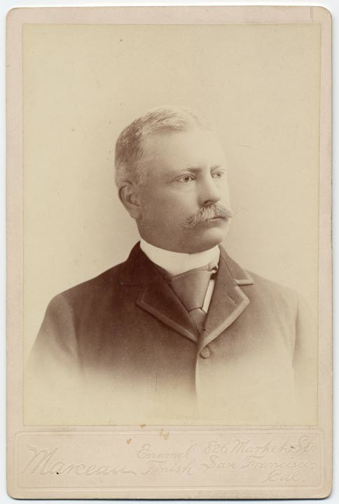 Theodore C. Marceau, Charles Frederick Crocker. Publisher: San Francisco : Theo C. Marceau, [ca. 1897], California State Library