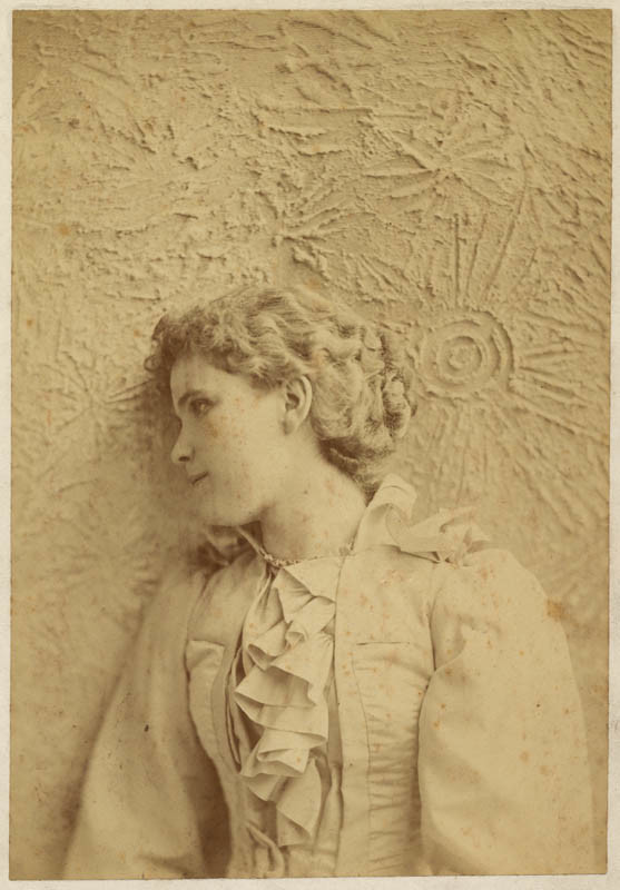 Theodore C. Marceau, Mrs. H. F. McCabe, ca. 1895