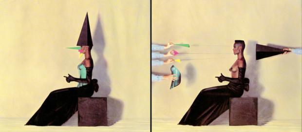 Jean-Paul Goude, Au ciel et sur la terre: La Vie En Rose Grace Jones, grace jones art