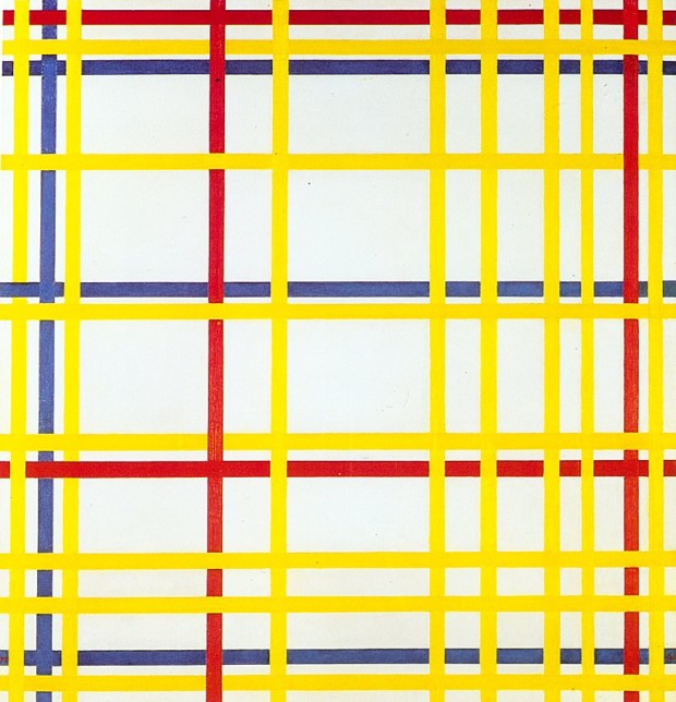 Piet Mondrian, New York City I, 1942 by Georges Pompidou Center, Paris