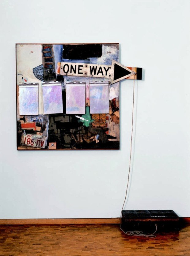Museum Ludwig Pop Art Robert Rauschenberg, Black Market, 1961, combine painting, collage (oil, metal, wood, canvas), 152 x 127 cm, © Robert Rauschenberg; VG Bild-Kunst, Bonn 2013, Photo: Rheinisches Bildarchiv Köln