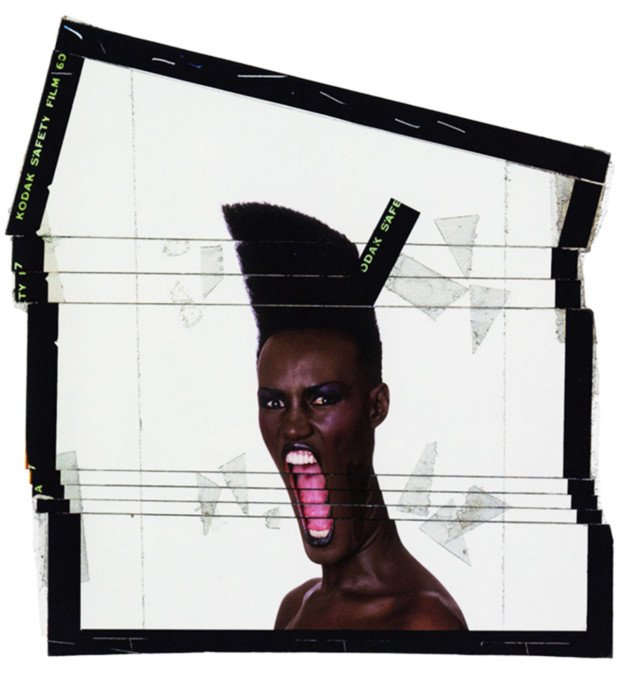 Jean-Paul Goude, Grace Jones / Slave to the Rhythm, 1982, grace jones art