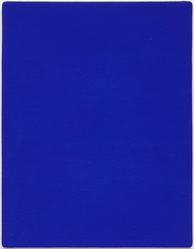 zero movement Yves Klein, Untitled blue monochrome (IKB 82), 1959,Solomon R. Guggenheim Museum