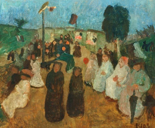 Summer Destinations Inspired By Paintings:  Paula Modersohn-Becker-Stiftung, Festival in Worpswede, 1903, Künstlerkolonie Worpswede, summer destinations
