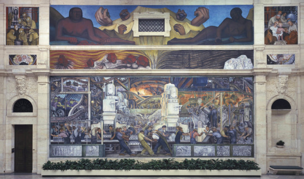 diego rivera detroit Detroit Industry north wall, Diego Rivera, 1933, Detroit Institute of Art