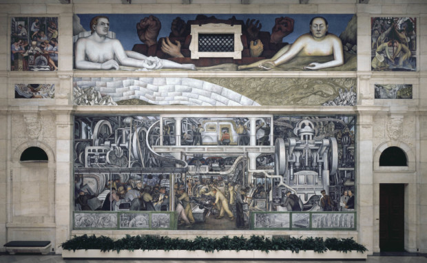 diego rivera detroit Detroit Industry south wall, Diego Rivera, 1933, Detroit Institute of Art