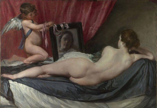 Diego Velazquez. The Toilet of Venus. 1647-1651. London, the National Gallery. mirrors in art