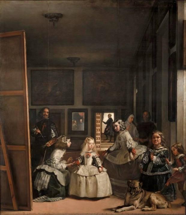 Diego Velazquez. Las Meninas (the Maids of Honor). 1656. Madrid, Museo Nacional del Prado. mirrors in art