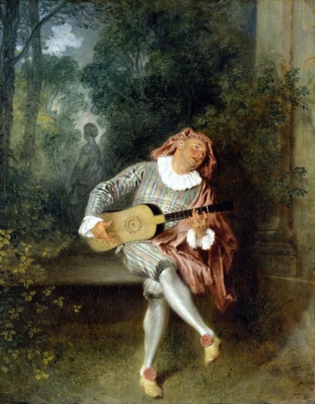 Guitarists in Art Antoine Watteau (1684-1721). Mezzetin (1717-1719). The Metropolitan Museum of Art, New York.