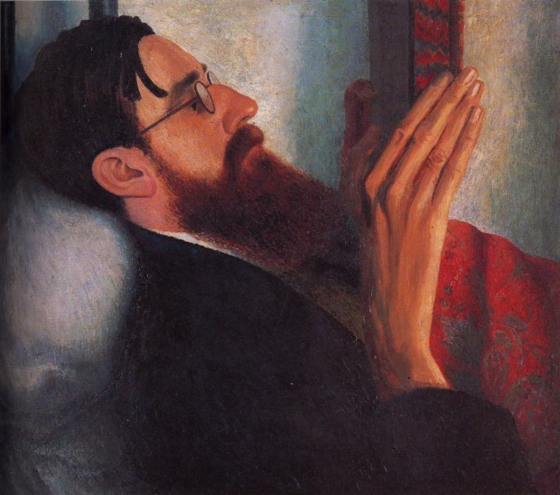 Dora Carrington Lytton Strachey (1916) ©National Portrait Gallery, London