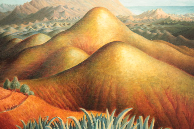 Dora Carrington Spanish Landscape with Mountains (1924) ©Tate London