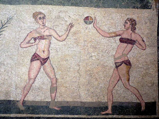 Science Photo Library, ancient bikini girls