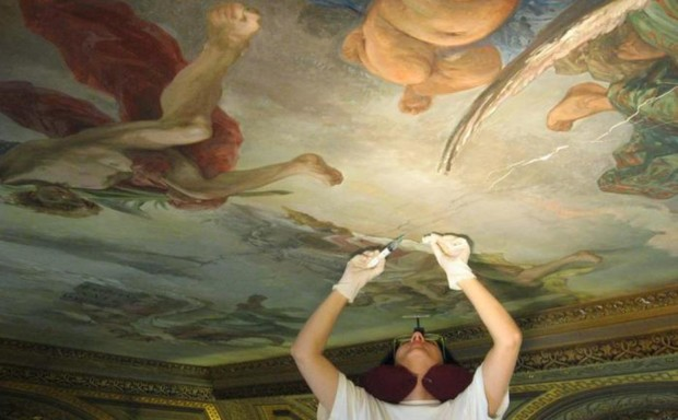 Raphael discovered The restoration works, source: ANSA