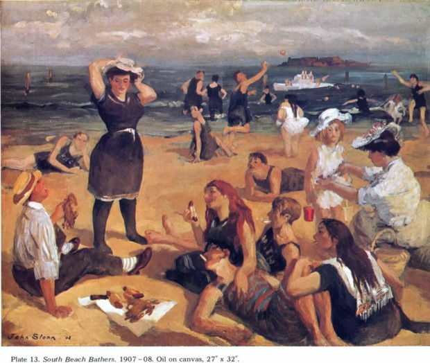 Bathing In Art John Sloan, South Beach Bathers, 1908 © Walker Art Centre, Minneapolis