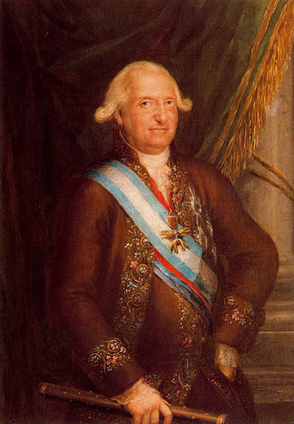 francisco goya paintings francisco goya modernist Francisco de Goya Portrait of Charles IV 1789 Madrid, Academia de Historia