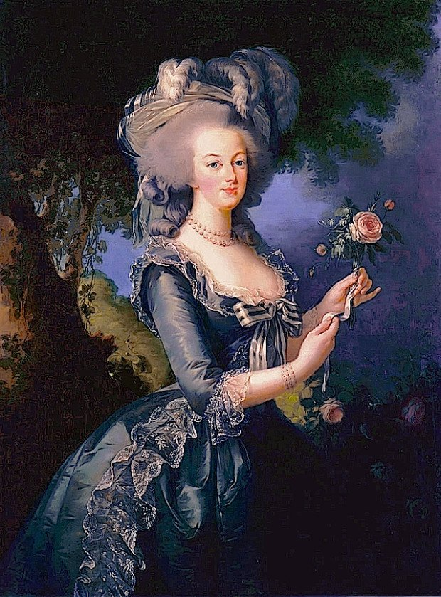 french elegance how did women dress in the th century marie antoinette queen of atilde137lisabeth vigatildecopye lebrun 1783 palace