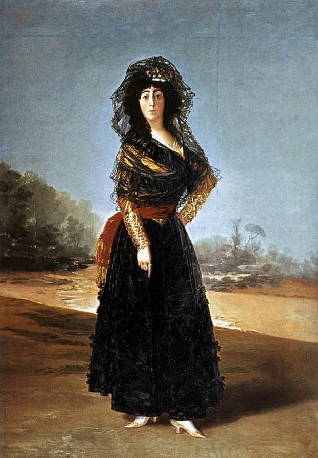 francisco goya paintings francisco goya modernist Francisco de Goya Portrait of the Duchess of Alba 1797 Hispanic Society of America, New York