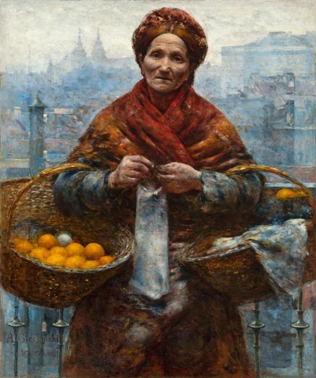 Jewess with Oranges, Aleksander Gierymski, 1880-1881, National Museum in Warsaw