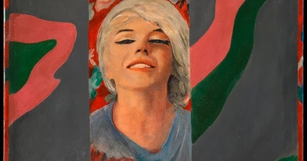 Marilyn Monroe in art Marylin Monroe in art Colour Her Gone by Pauline Boty, 1962 © The Estate of Pauline Boty