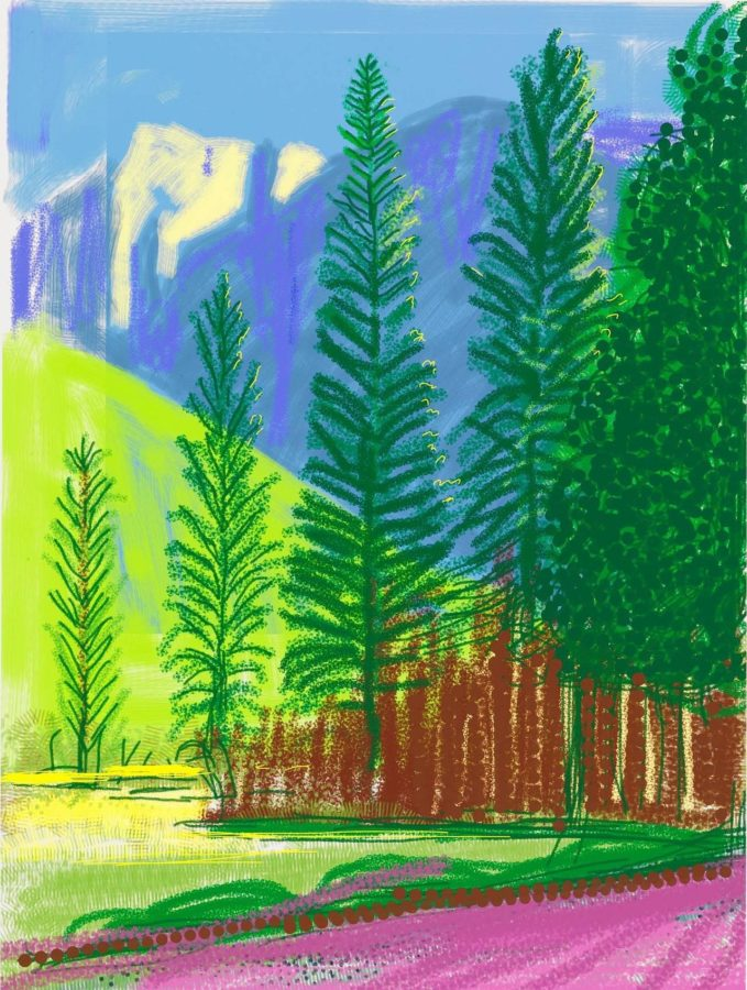Hockney ipad paintings