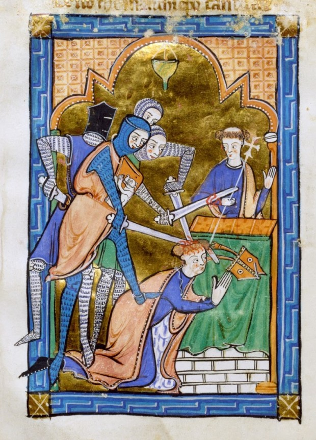thomas becket Martyrdom of Thomas Becket (2)