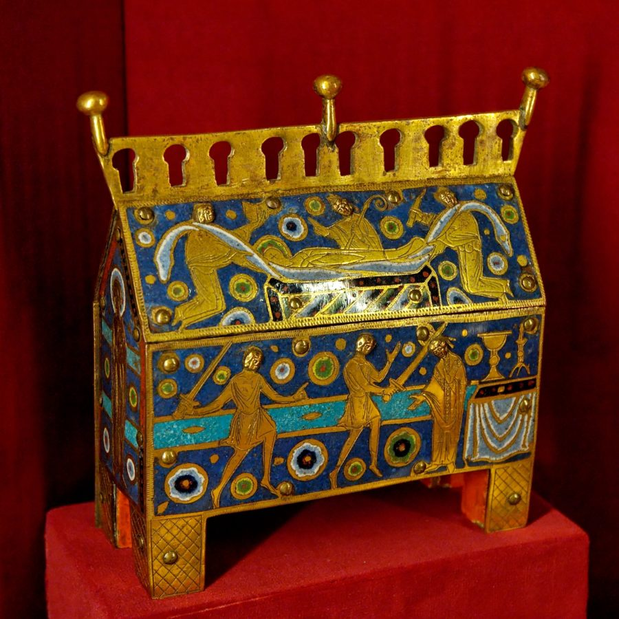 thomas becket Reliquary_Thomas_Becket_MNMA_Cl23296 Thomas Becket Reliquary, between 1190 and 1200, Musée National du Moyen Âge.