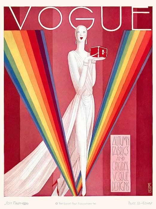 Eduardo García Benito, Vogue cover, September 1926 issue, 1926.