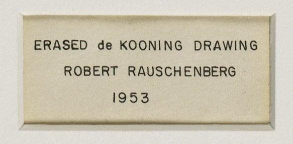 rauschenberg erased de kooning