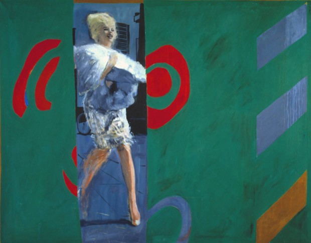 Marilyn Monroe in art Marylin Monroe in art The Only Blonde in the World 1963 Pauline Boty 1938-1966 Purchased 1999 https://www.tate.org.uk/art/work/T07496