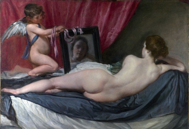 The Rokeby Venus, Diego Velázquez, 1647-1651, National Gallery, London, 5 greatest Baroque painters