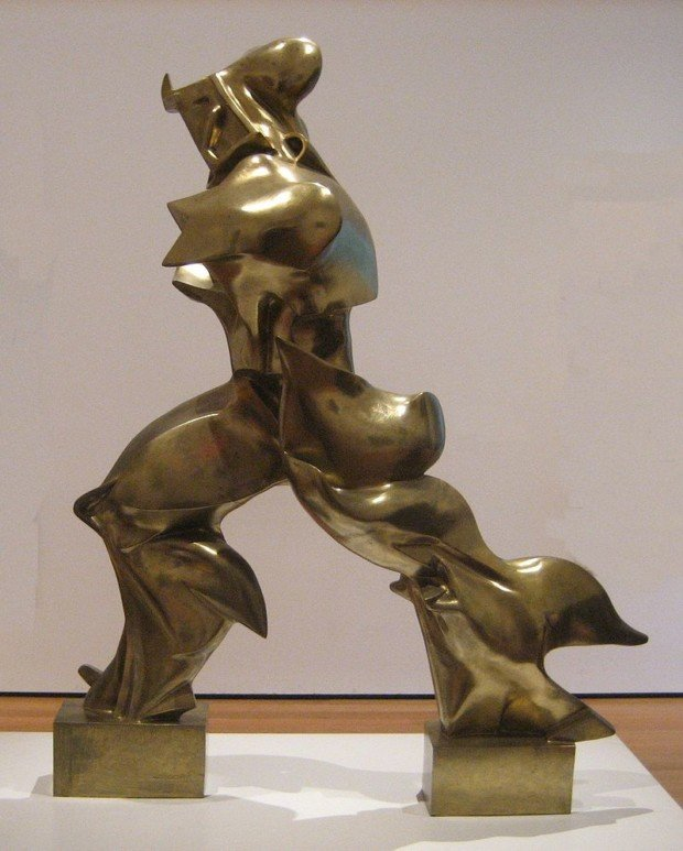 Umberto Boccioni, Unique Forms of Continuity in Space (1913), Museum of Modern Art