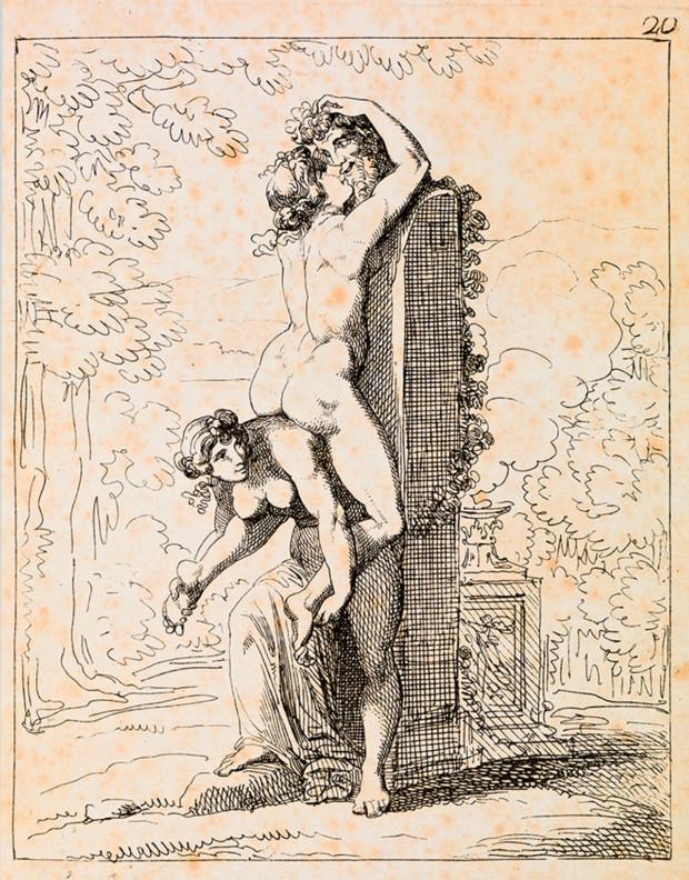 """I Modi History of Erotic Art """"I Modi"""" Giulio Romano © Fondazione Querini Stampalia"""