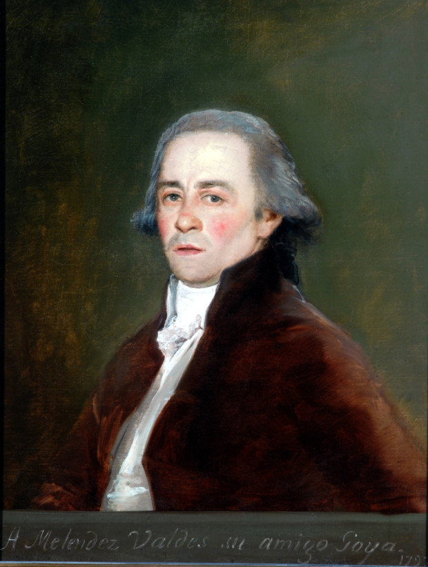Portrait of Juan Antonio Melendez Valdes, Francisco de Goya, 1797, the Bowes Museum, Barnard Castle, El Greco to Goya - Spanish Masterpieces
