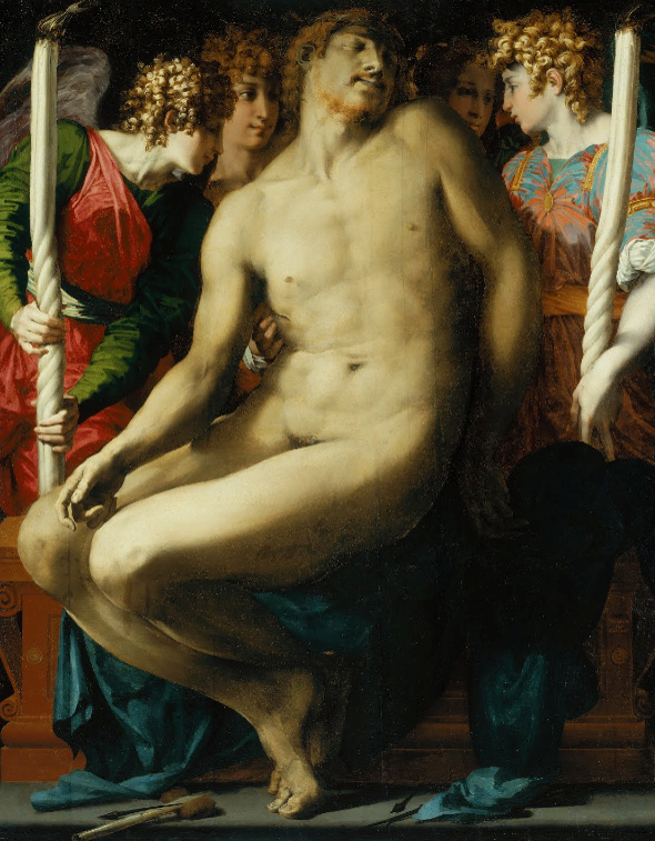 Rosso Fiorentino, Angel Pietà (Dead Christ with Angels), completed 1527., mannerism