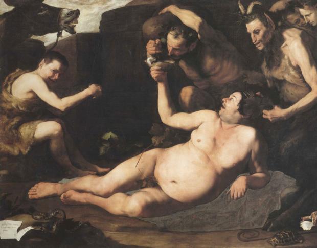 Jusepe de Ribera (Spanish, 1591-1652), Drunken Silenus, 1626,Naples, Museo e Gallerie Nazionali di Capodimonte