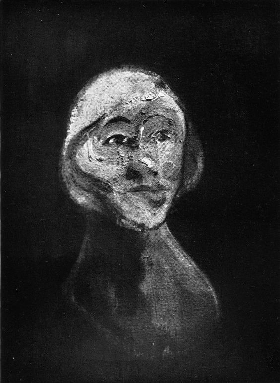 Francis Bacon, Mile Suzy Solidor, 1957 (destroyed by the artist)