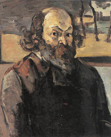 Self Portrait, Paul Cézanne, 1873-1876, Musée d'Orsay, Cézanne's Postimpressionist Portraits