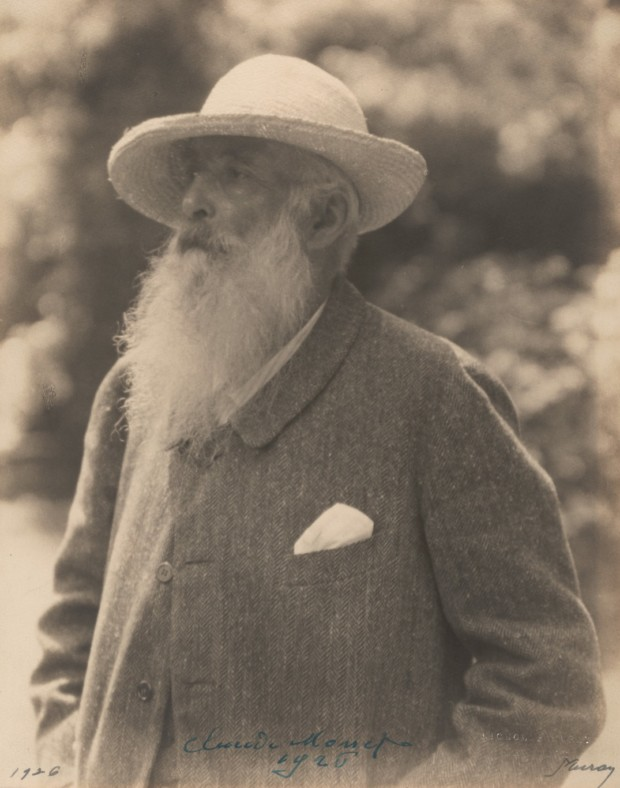 Claude Monet Japanese FootbridgeNickolas Muray, Claude Monet, 1926, Museum of Modern Art, New York