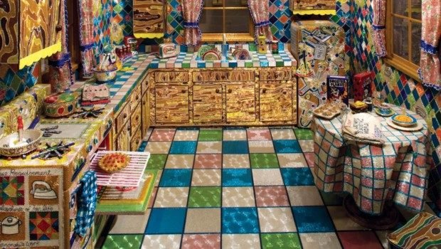 Liza Lou, Kitchen, 1996