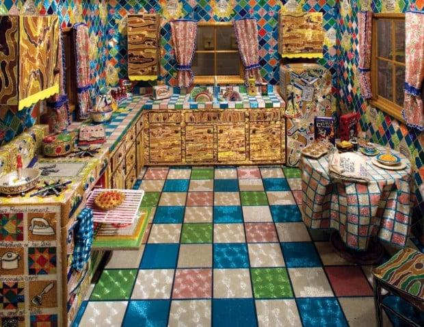 Liza Lou, Kitchen, 1996 Liza Lou's art