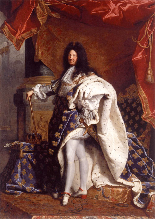 Hyacinthe Rigaud, Louis XIV, 1701, Paris, Louvre, portraits louis xiv